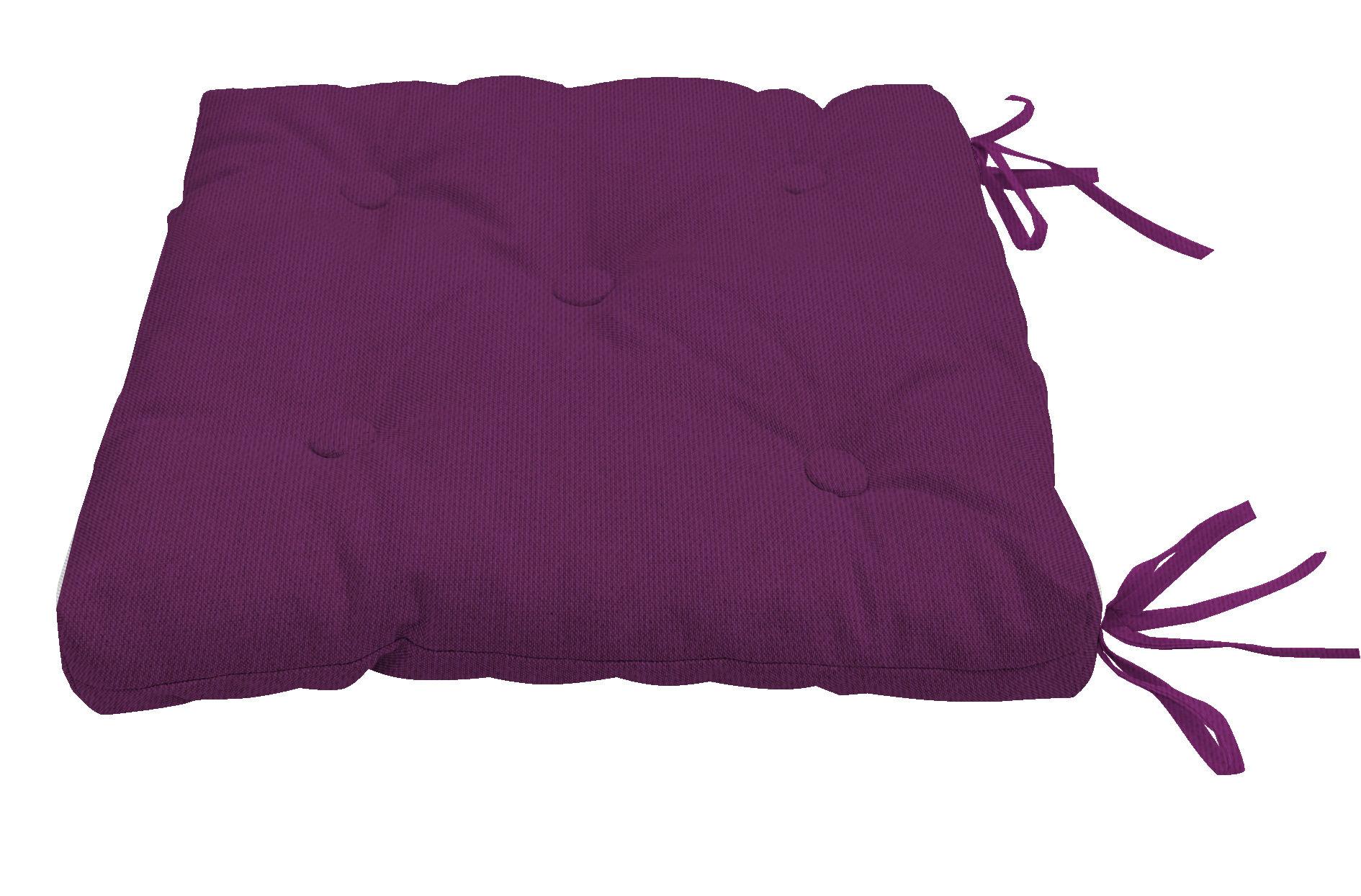Декоративные подушки Kauffort Подушка на стул Нosta Цвет: Темно-Фиолетовый (40х40)