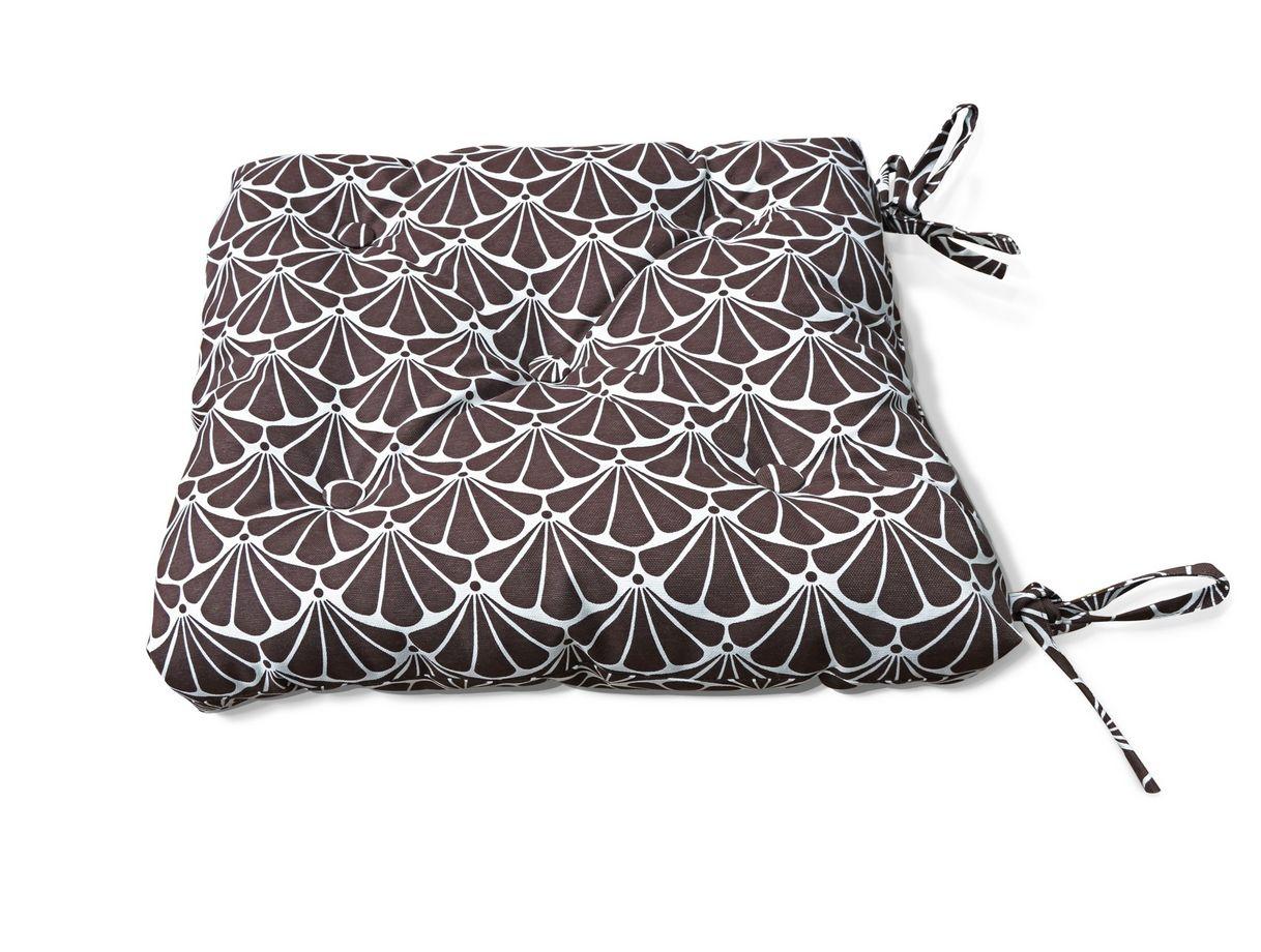 Декоративные подушки Kauffort Подушка на стул Garden - S Цвет: Коричневый (50х50)