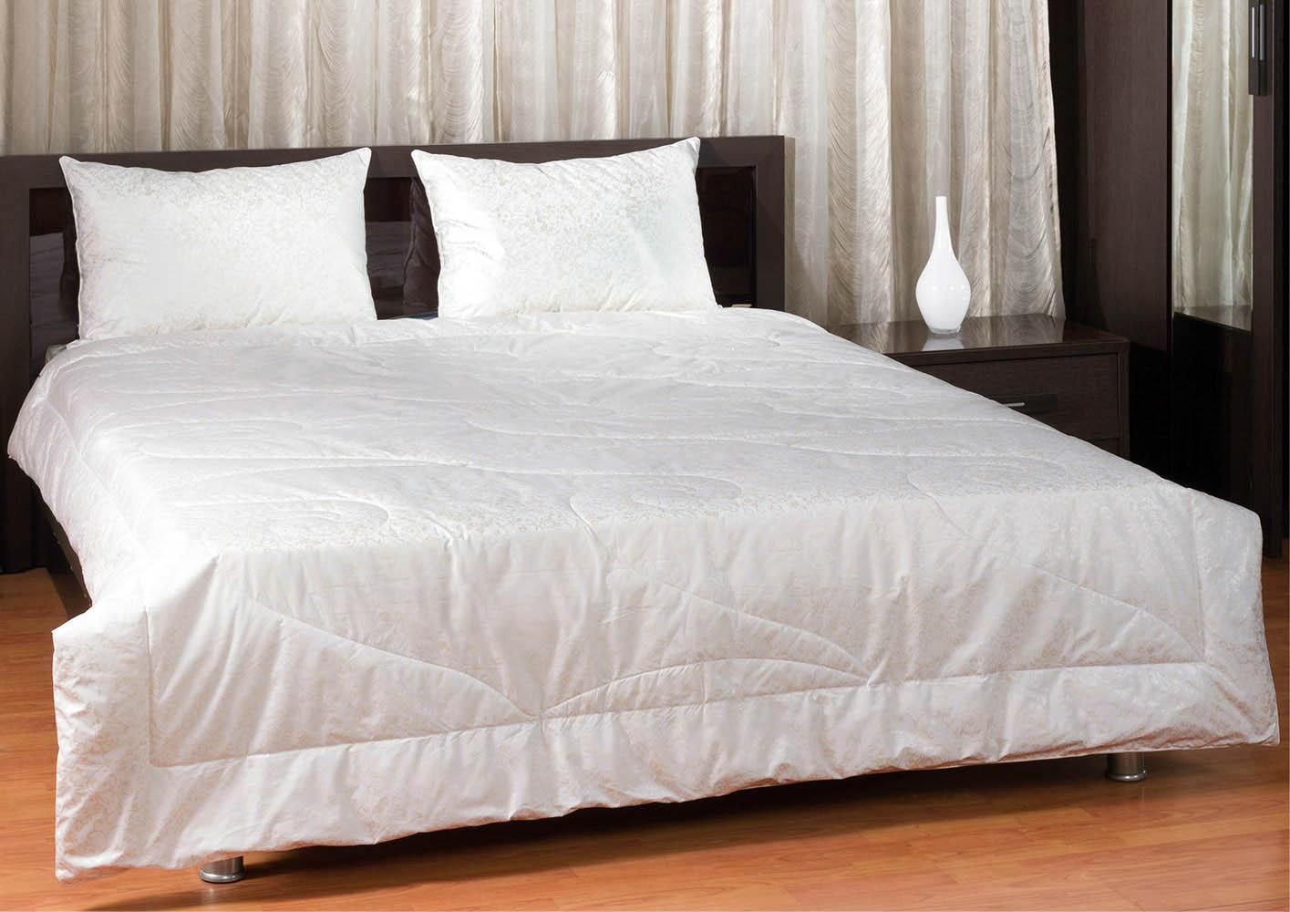 Купить Одеяла Primavelle, Одеяло Лебяжий Пух Цвет: Белый (140х205 см), Россия, Хлопковый тик
