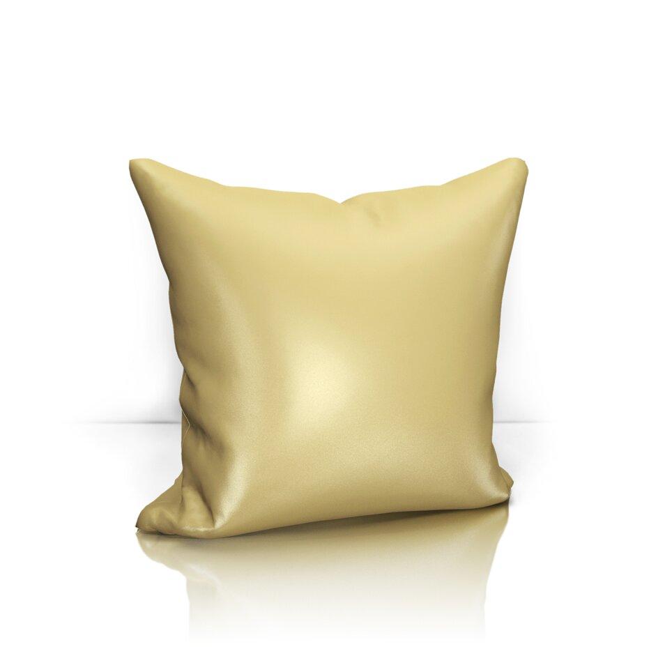 Купить Декоративные подушки Kauffort, Декоративная подушка Avery Цвет: Песочный (40х40), Россия, Сатен