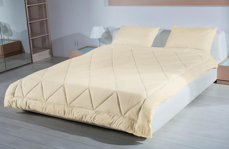 Купить Одеяла Primavelle, Одеяло Yak Цвет: Бежевый (200х220 см), Россия, Хлопковый сатин