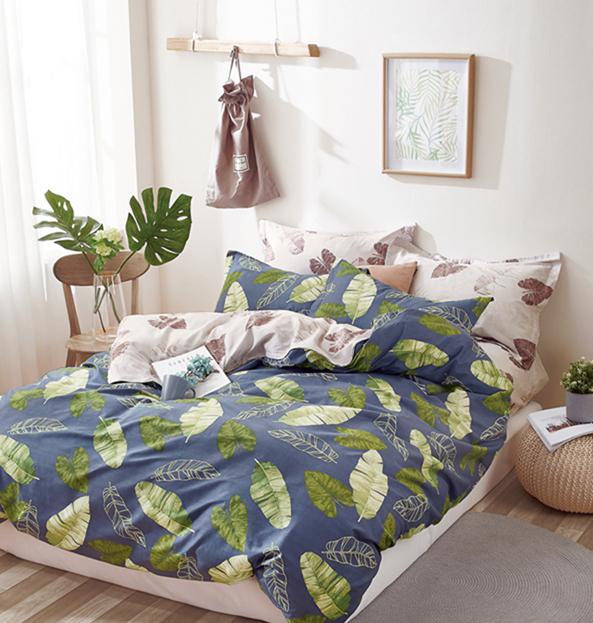 Купить Комплекты постельного белья Tango, Постельное белье Dillon (2 сп. евро), Китай, Зеленый, Кремовый, Синий, Хлопковый сатин