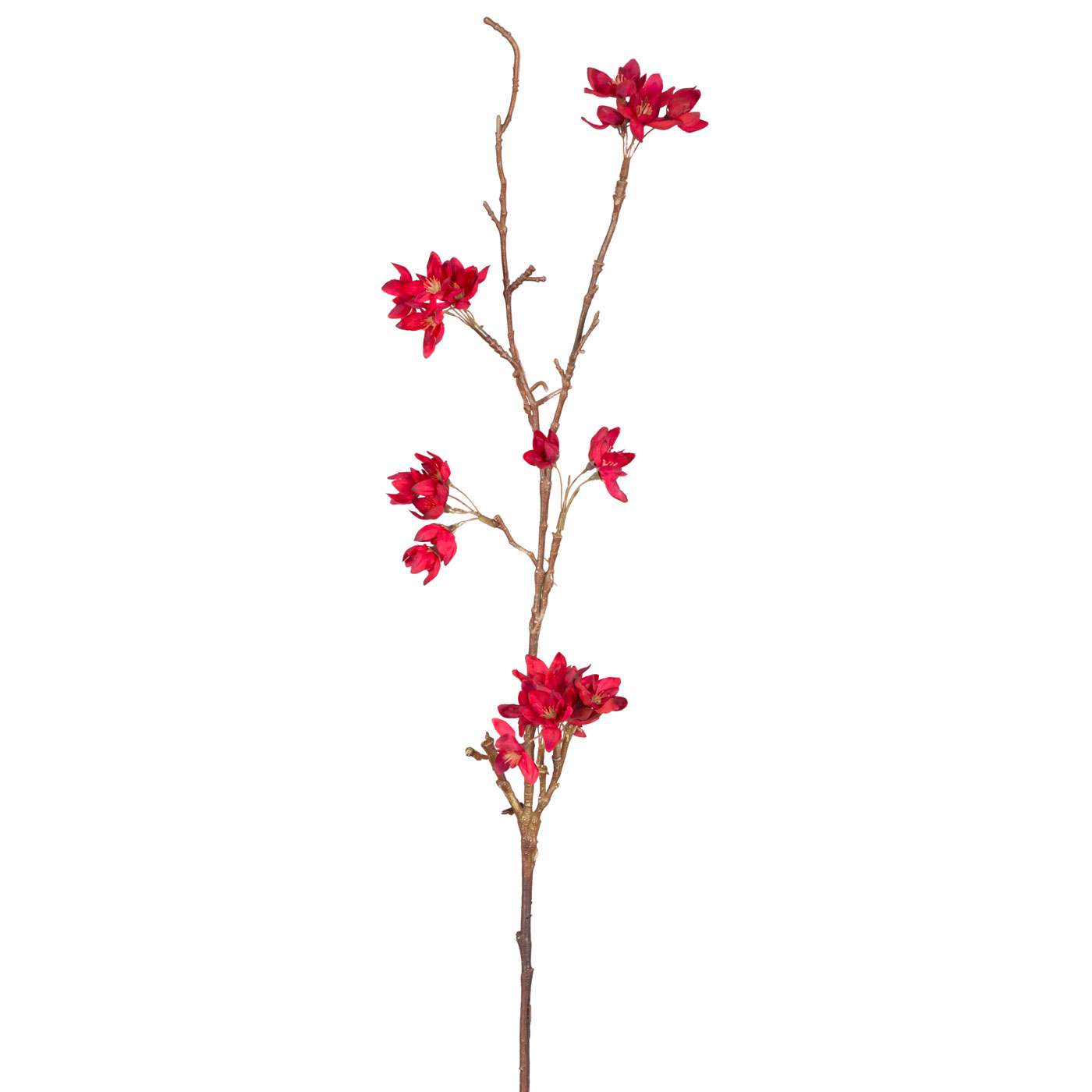 Купить Искусственные растения Home Philosophy, Искусственный цветок Миндаль Цвет: Красный (86 см), Китай, Полимер