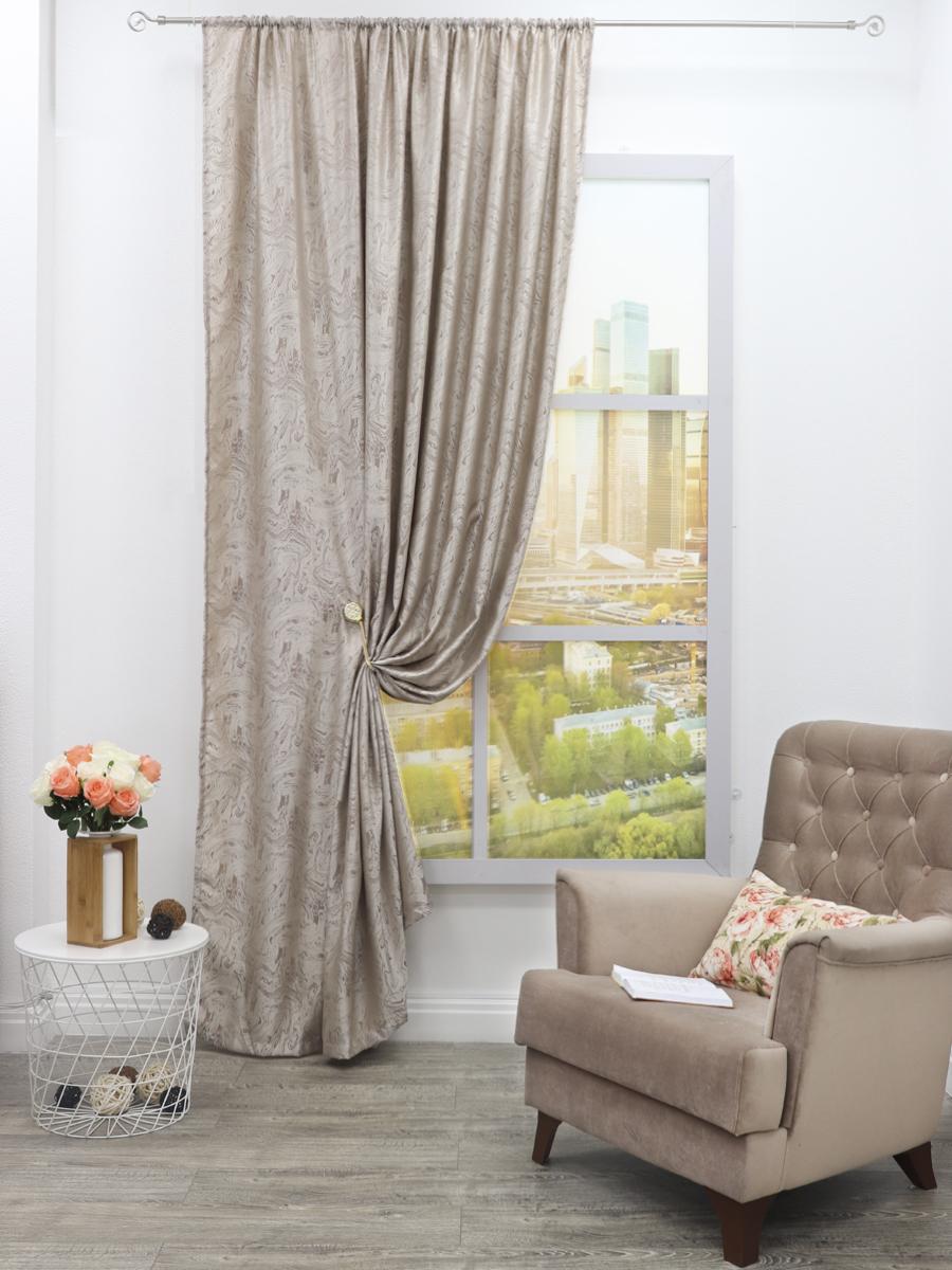 Классические шторы Fancy Цвет: Бежевый