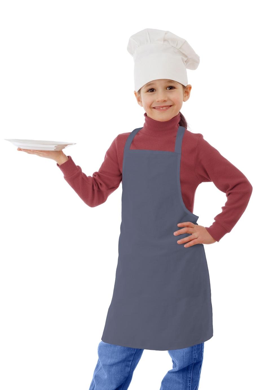 Фартук детский Sensitive Цвет: Серый (45х50 см) фото