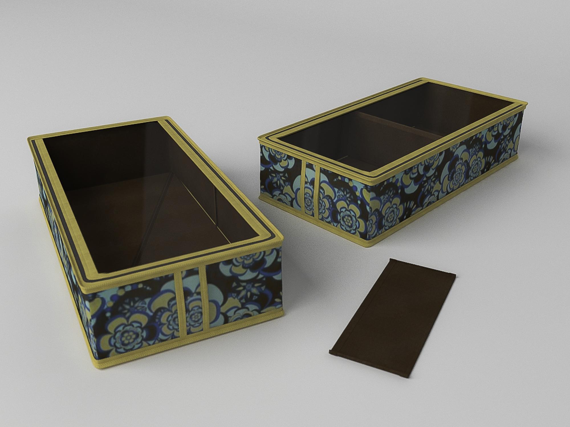 Органайзеры и кофры CoFreT Кофр для обуви Прованс (12х26х52 см)