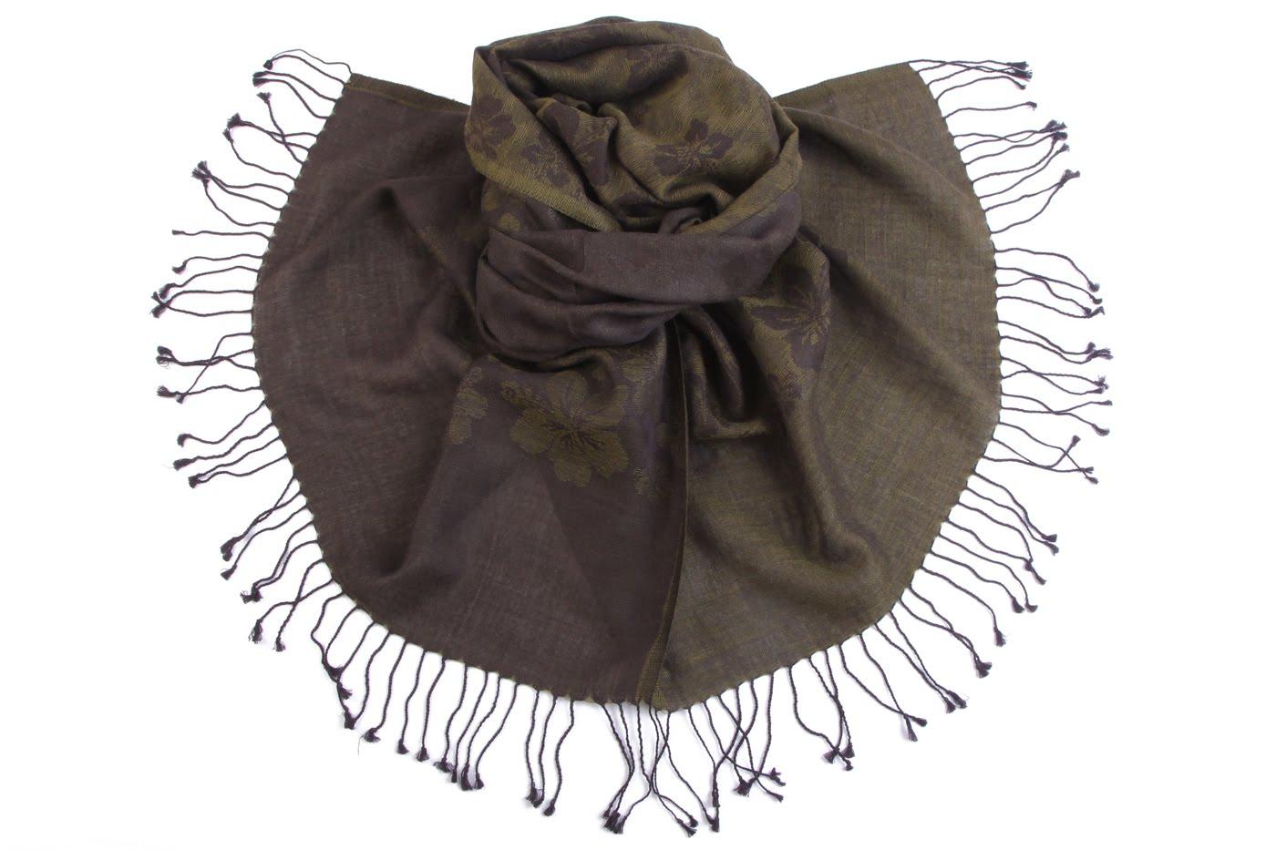 Накидка-палантин Kenneth Цвет: Зеленый (60х200 см) фото
