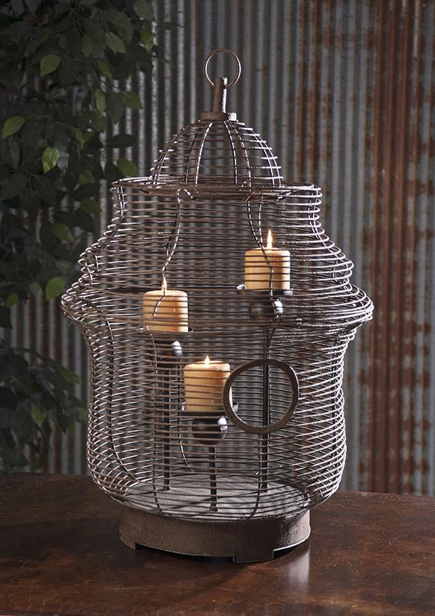 Купить Декоративные свечи Home Philosophy, Подсвечник Bayane (50х74 см), Китай, Коричневый, Металл