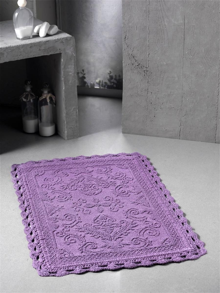 Коврик для ванной Sage Цвет: Светло-Лавандовый (55х85 см) фото