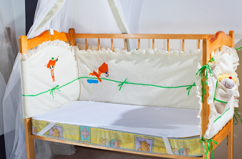 Наматрасники и чехлы для матрасов Primavelle Детский наматрасник Bevin Цвет: Белый (60х120 см)