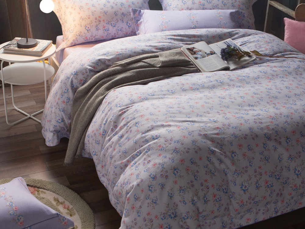 где купить Комплекты постельного белья Asabella Постельное белье Punto (2 сп. евро) по лучшей цене