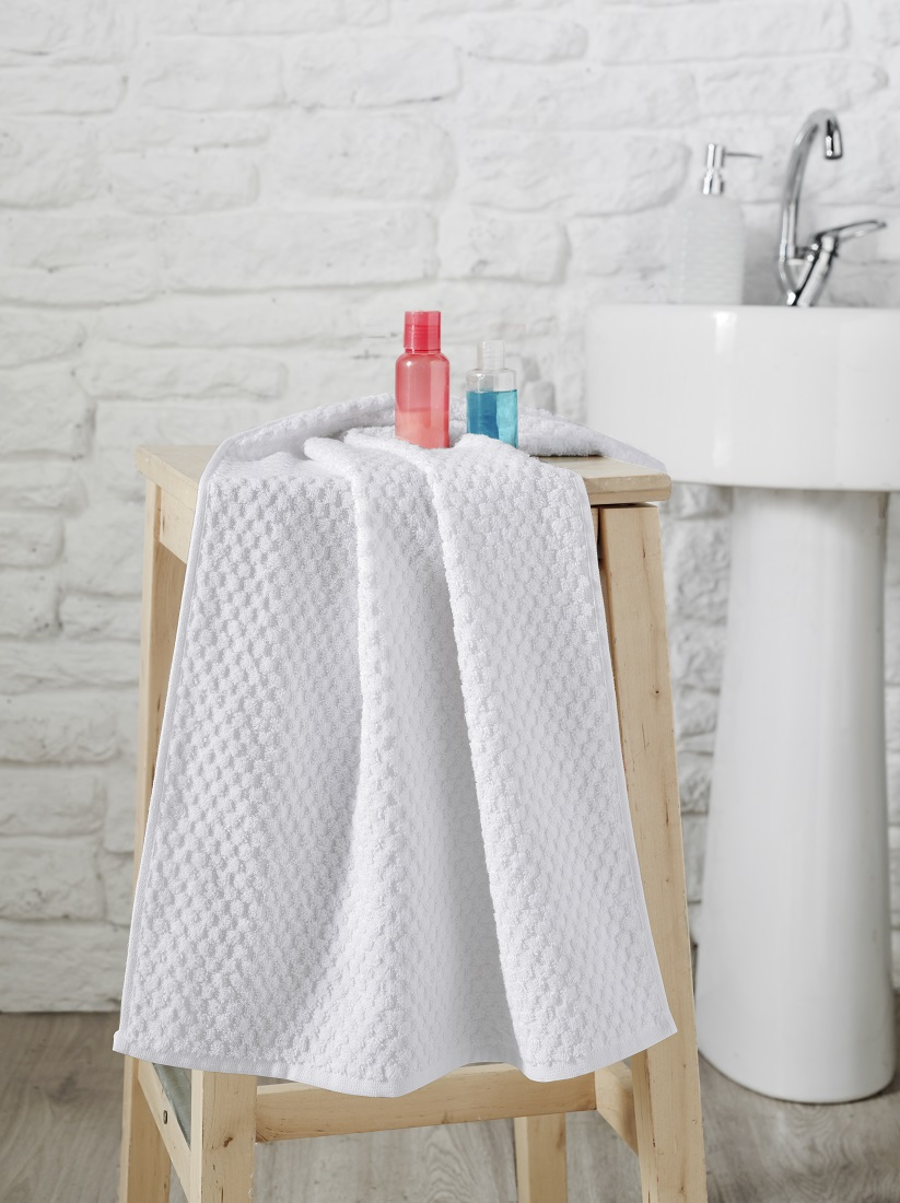 Купить Полотенца Karna, Полотенце Dama Цвет: Кремовый (50х90 см), Турция, Жаккард