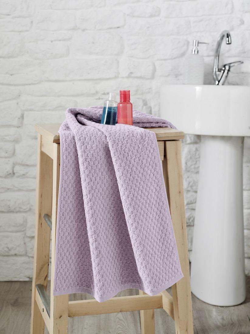 Купить Полотенца Karna, Полотенце Dama Цвет: Пудра (50х90 см), Турция, Жаккард