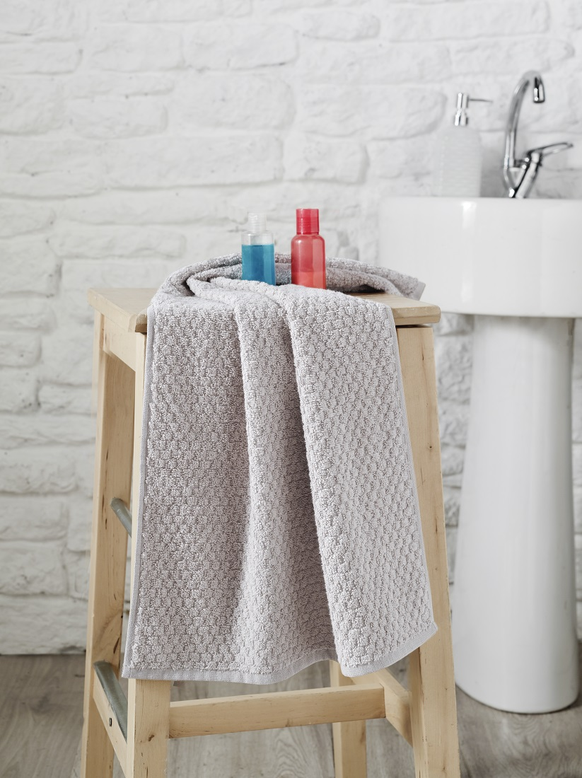 Купить Полотенца Karna, Полотенце Dama Цвет: Бежевый (50х90 см), Турция, Жаккард
