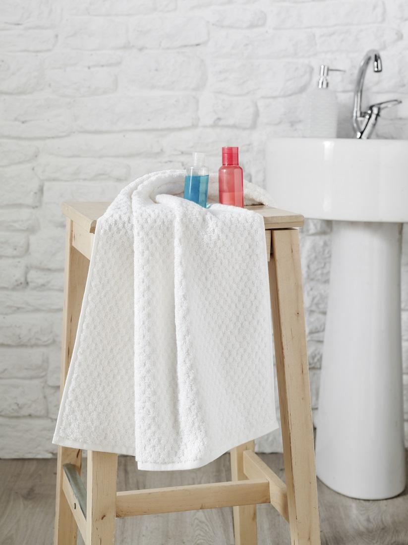 Купить Полотенца Karna, Полотенце Dama Цвет: Белый (50х90 см), Турция, Жаккард
