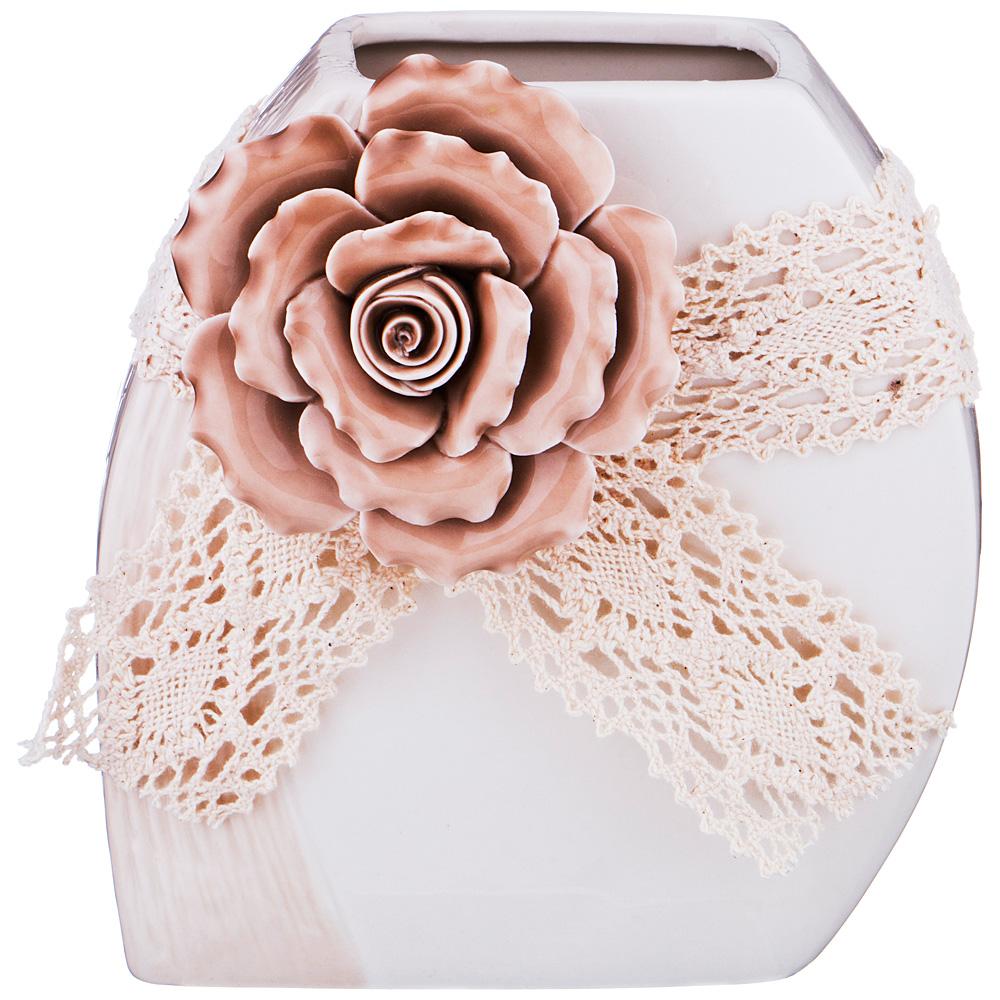 Вазы Arti-M Ваза Роза (9х15х15 см) вазы pavone ваза дикая роза