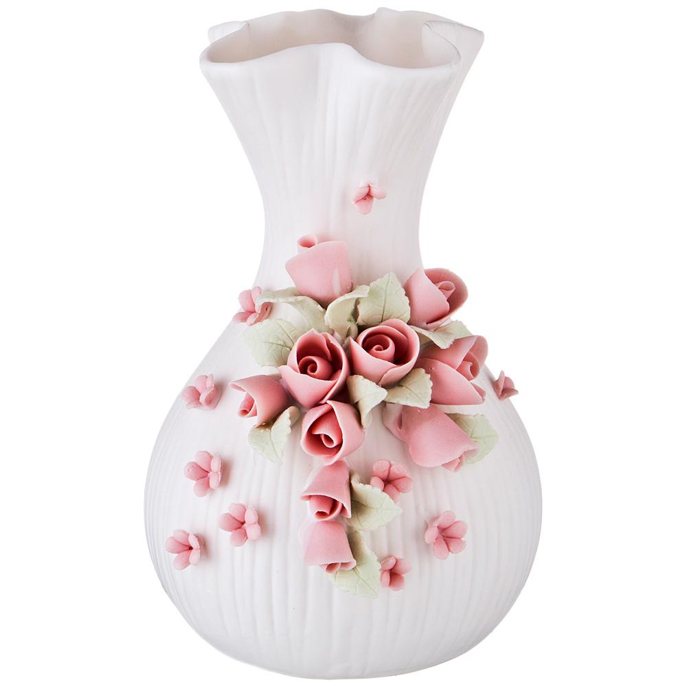 Вазы Lefard Ваза Розочка (10х11х16 см) lefard ваза shell 43 см
