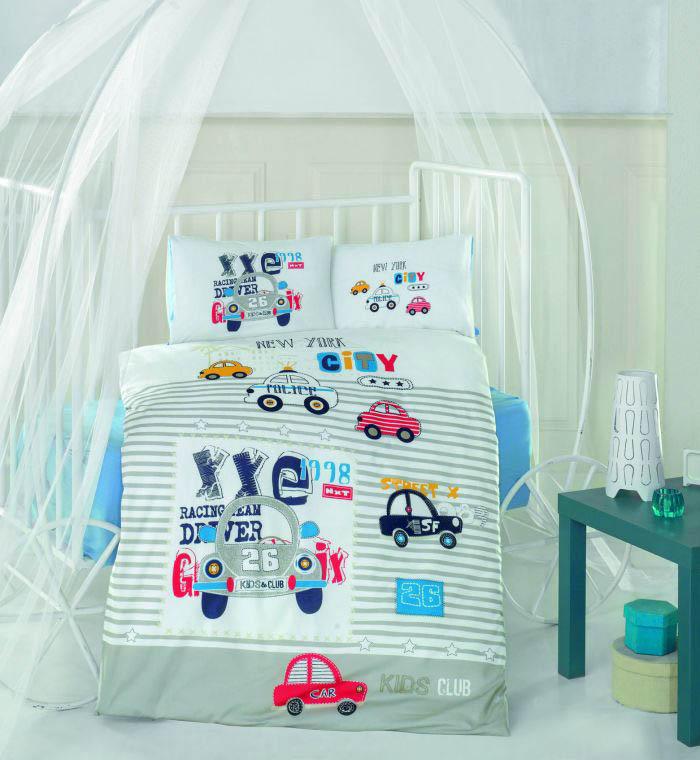 детское постельное белье Clasy Детское Постельное белье City Car (100х150) simon mignon детское постельное белье