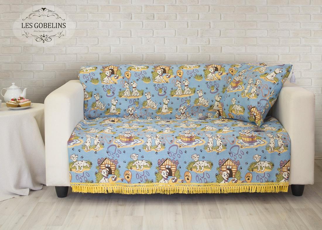 Покрывала, подушки, одеяла для малышей Les Gobelins Детская Накидка на диван Dalmatiens (150х200 см) les gobelins les gobelins накидка на диван bouquet francais 150х190 см