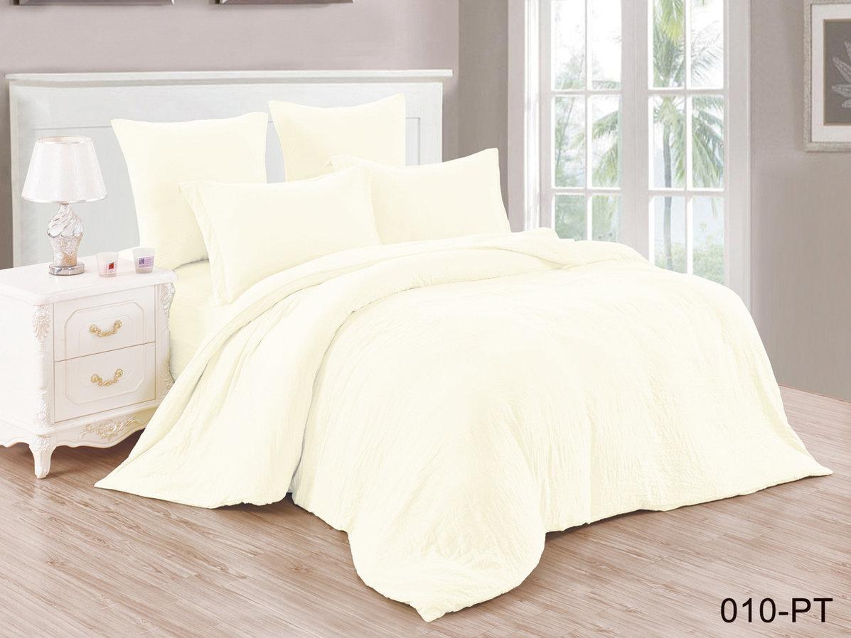 Купить Комплекты постельного белья Cleo, Постельное белье Catherine (семейное), Китай, Желтый, Синтетический сатин