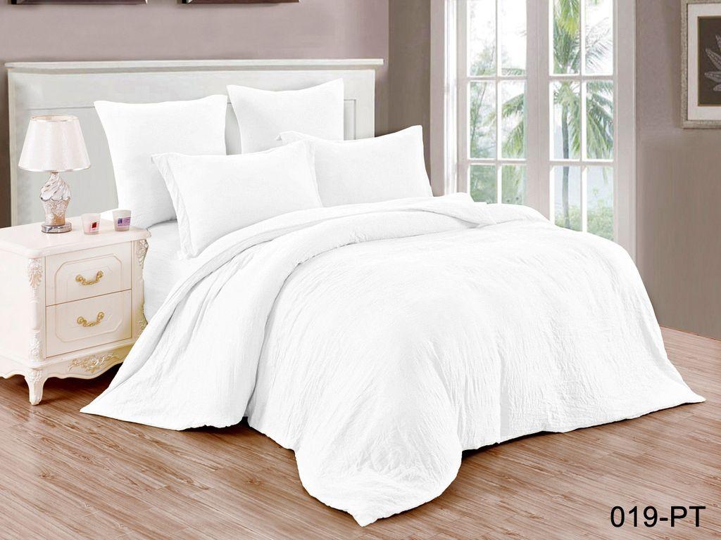 Купить Комплекты постельного белья Cleo, Постельное белье Sharleen (семейное), Китай, Белый, Синтетический сатин