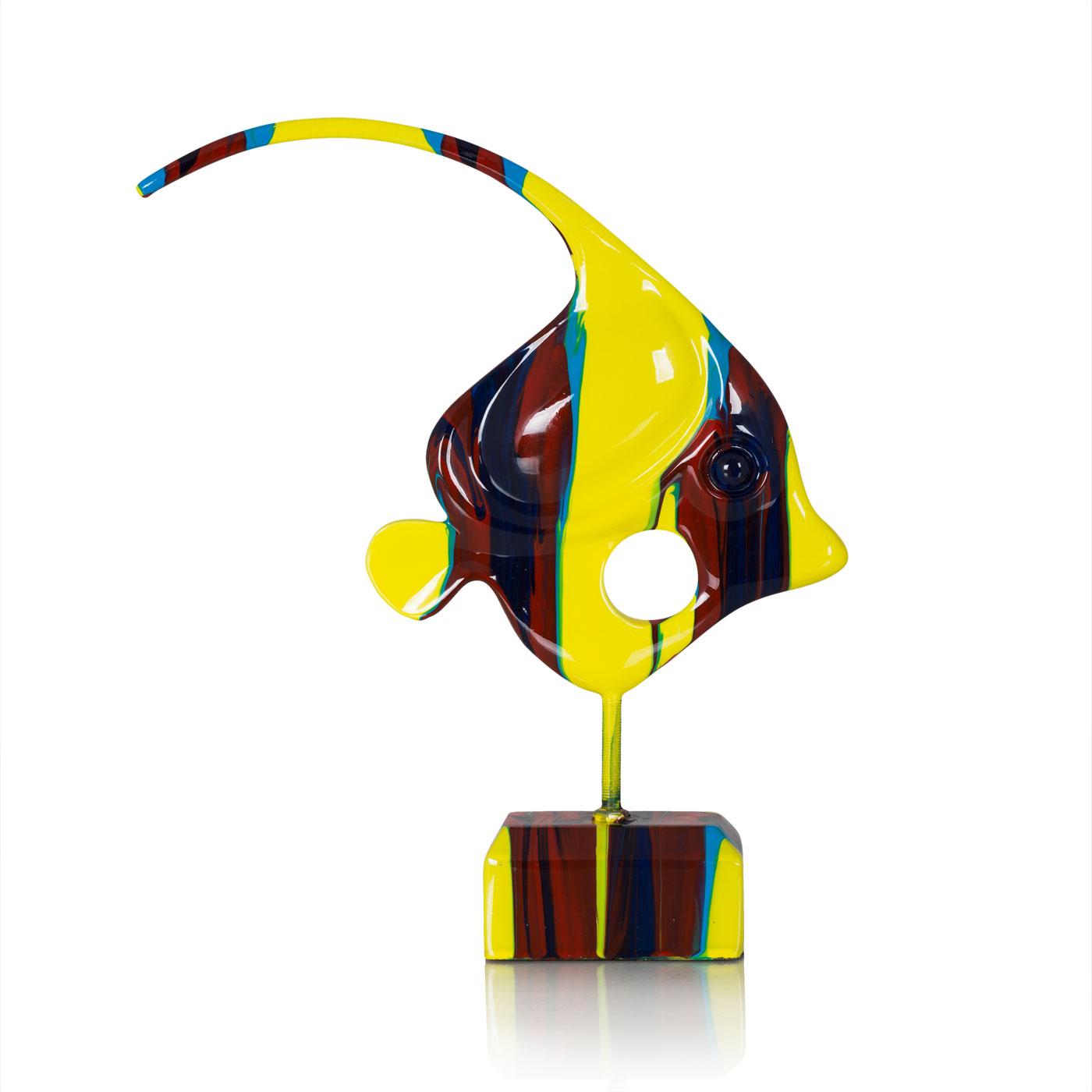 Купить Статуэтки и фигурки Home Philosophy, Фигурка Landa Цвет: Красно-Желтый (26х5х32 см), Китай, Полирезин