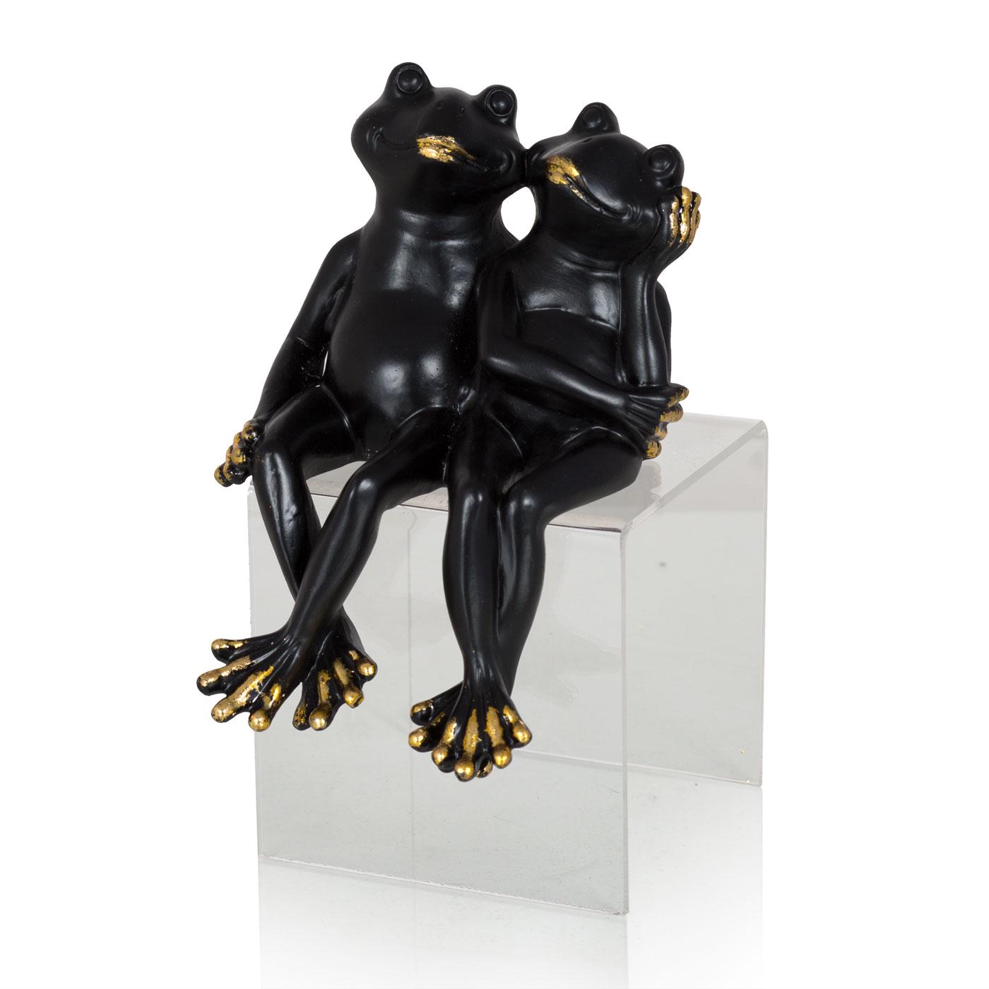 Купить Статуэтки и фигурки Home Philosophy, Фигурка Love Цвет: Черный (11х16х9 см), Китай, Полирезин