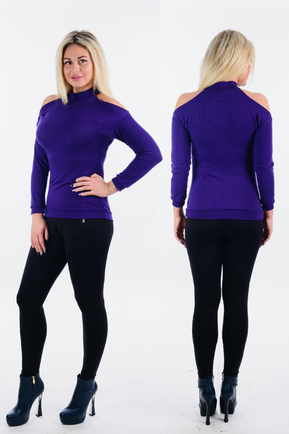 Джемпер Bertinoro Цвет: Фиолетовый (46) фото