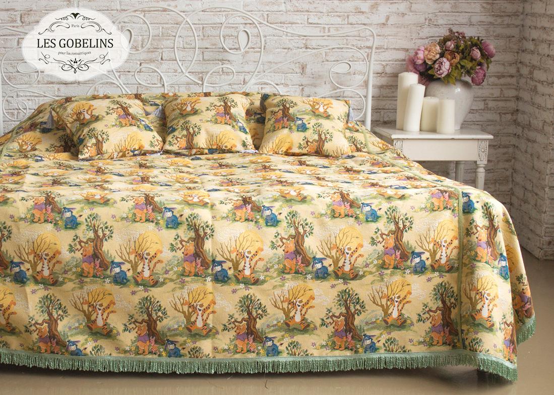 Покрывала, подушки, одеяла для малышей Les Gobelins Детское Покрывало на кровать Winnie L'Ourson (240х260 см)