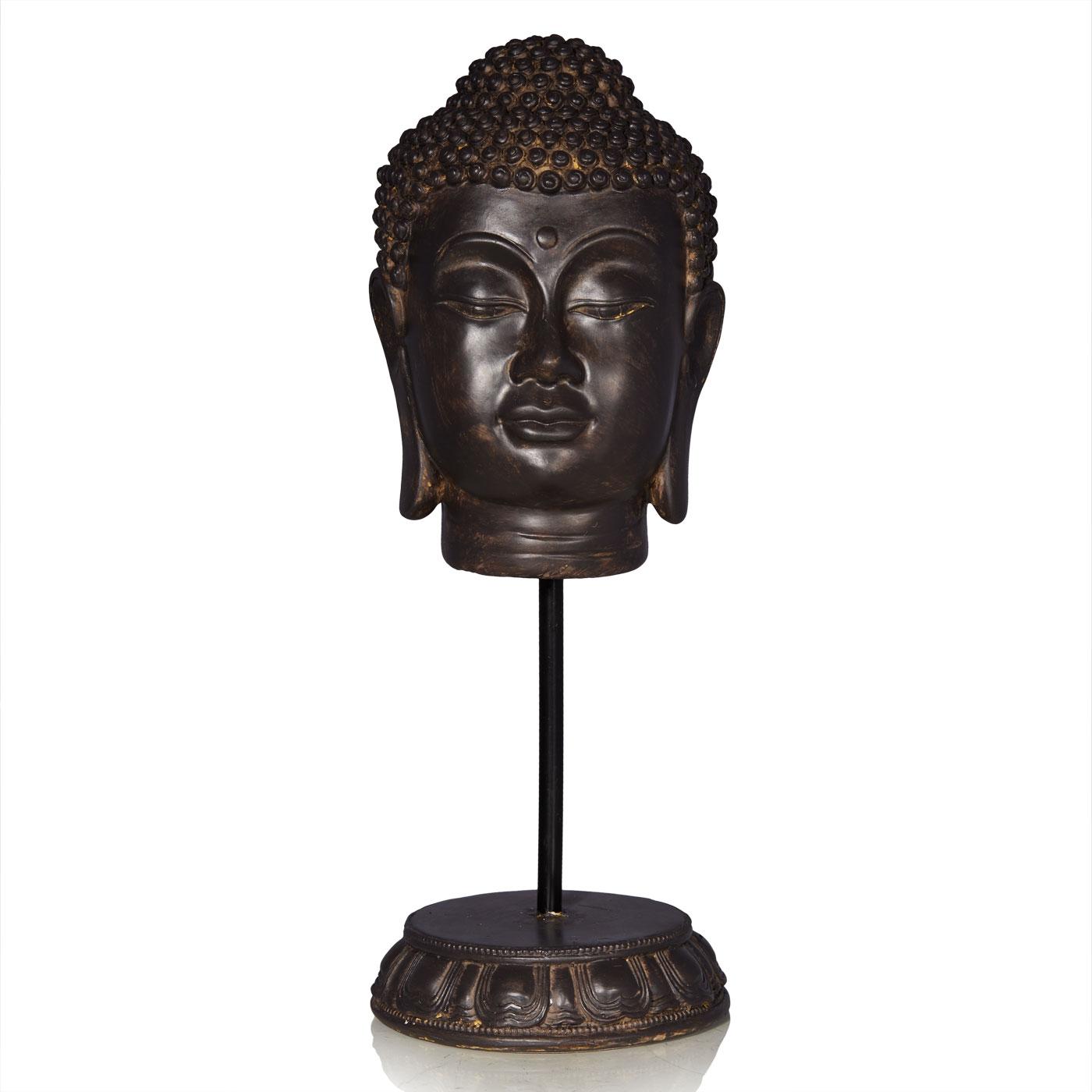 Купить Статуэтки и фигурки Home Philosophy, Фигурка Buddha Цвет: Коричневый (12х36 см), Китай, Полирезин