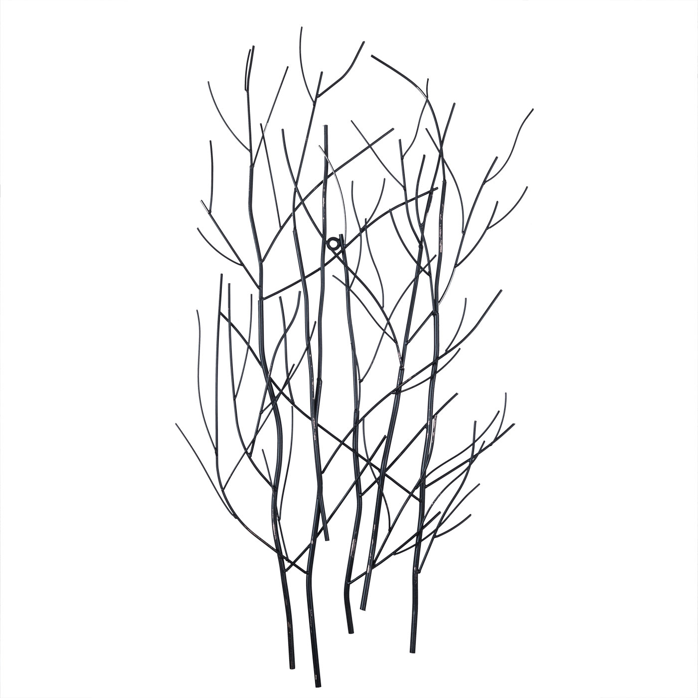 Купить Картины, постеры, гобелены, панно Home Philosophy, Настенный декор Ruanda Цвет: Чёрный (45х90 см), Китай, Металл
