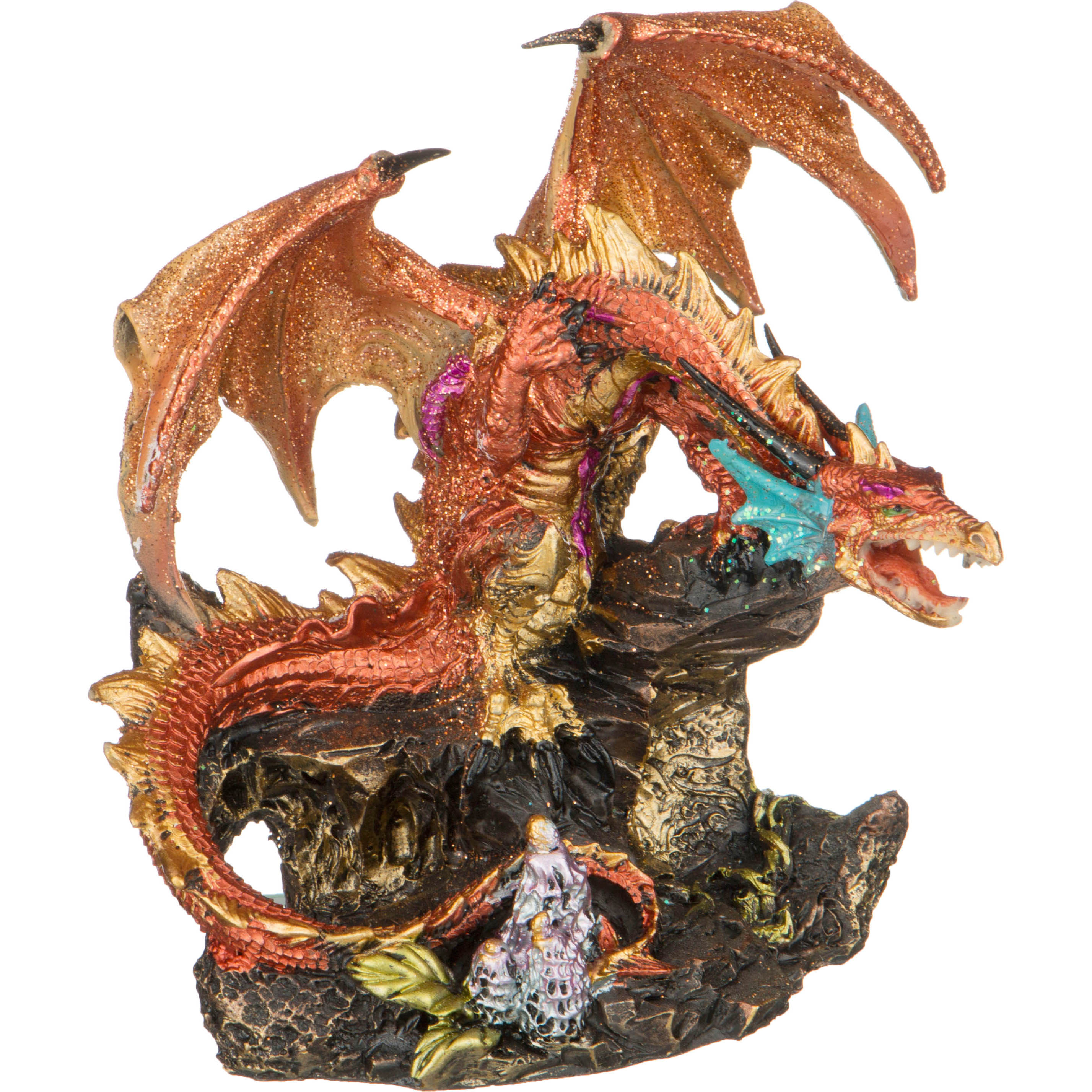 Статуэтки и фигурки Lefard Фигурка Дракон (12х14х15 см) lefard сувенир ligia 22 см