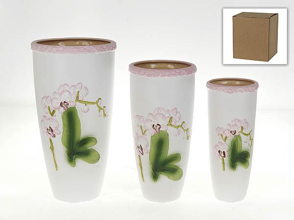 Вазы Gloria Garden Ваза Нежная Орхидея (Набор) вазы pavone ваза орхидея