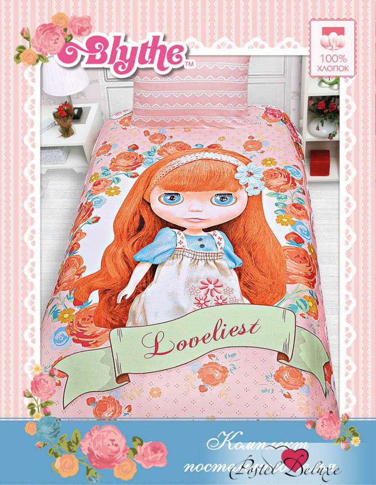 детское постельное белье Mona Liza Постельное белье Loveliest(145х210 см) цена