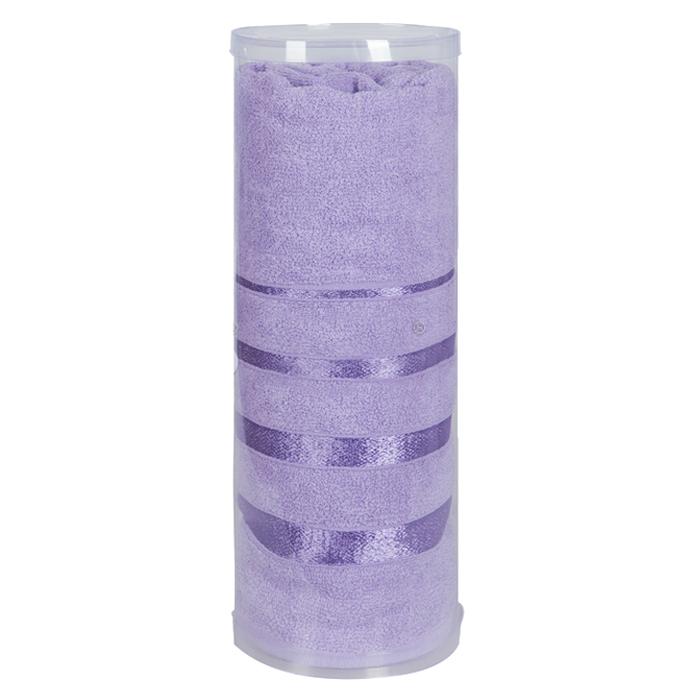 Купить Полотенца Soavita, Полотенце Шантони Цвет: Лиловый (65х138 см), Китай, Фиолетовый, Махра