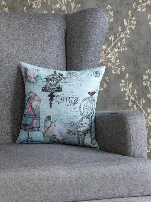 Декоративная подушка Мадам помпадур (40х40)