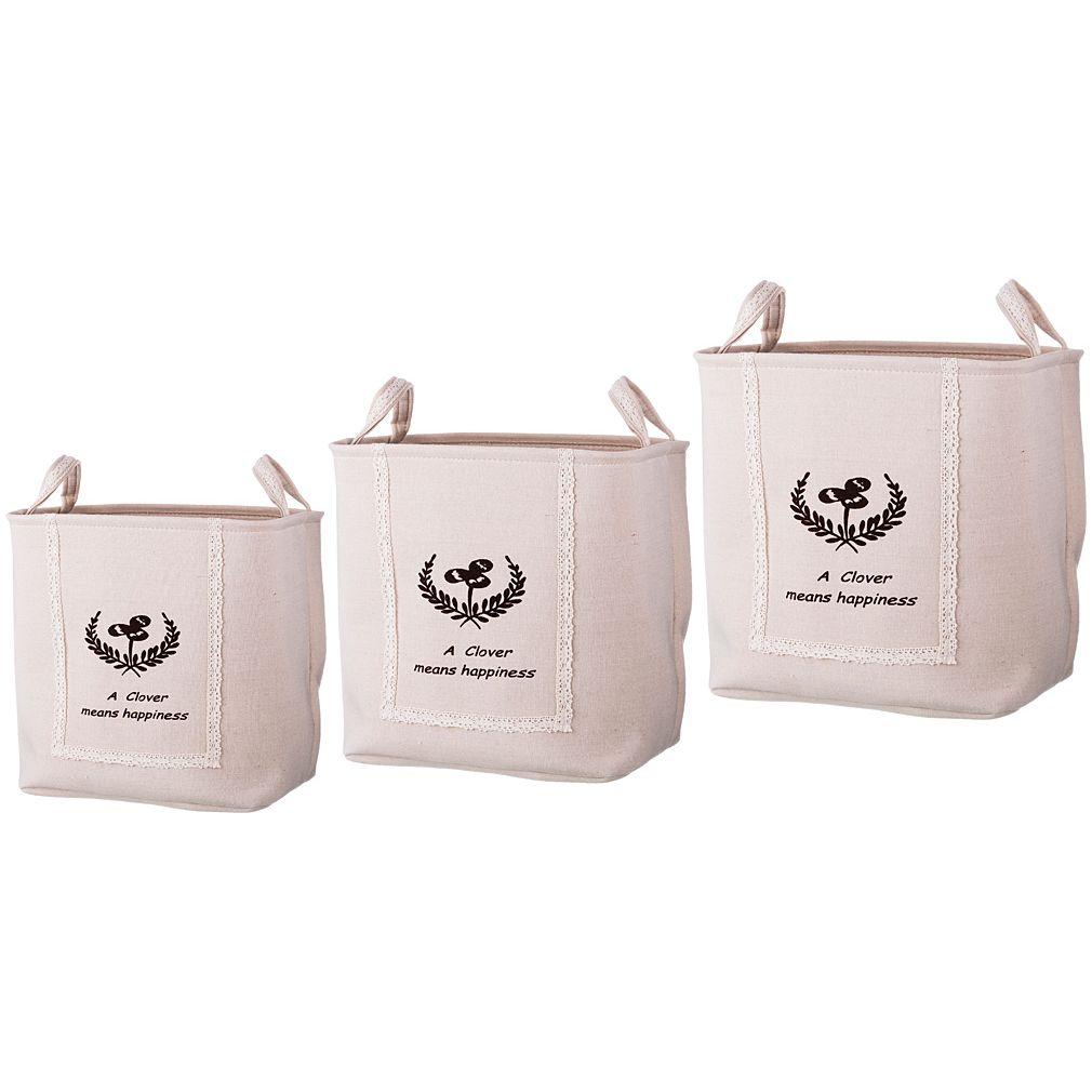 Корзины, коробки  контейнеры Lefard Корзина Wilford (Набор)