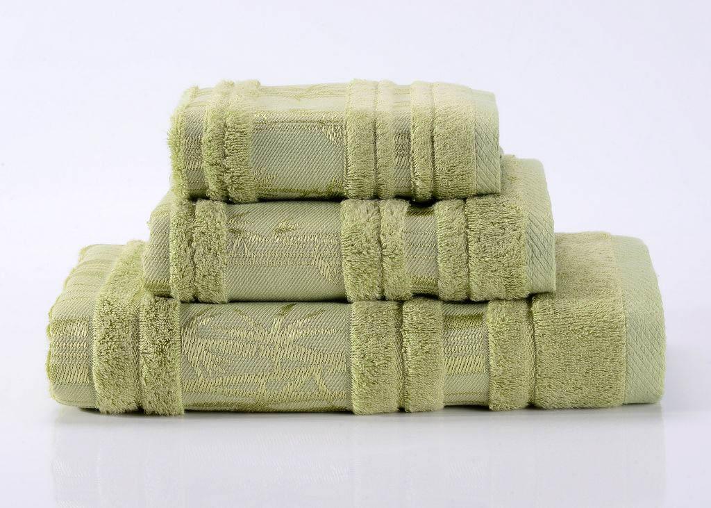 Полотенца Valtery Полотенце Bamboo CL Цвет: Зеленый (70х140 см) tac полотенце леопард талисман сочи 2014 70 140 bamboo зеленый