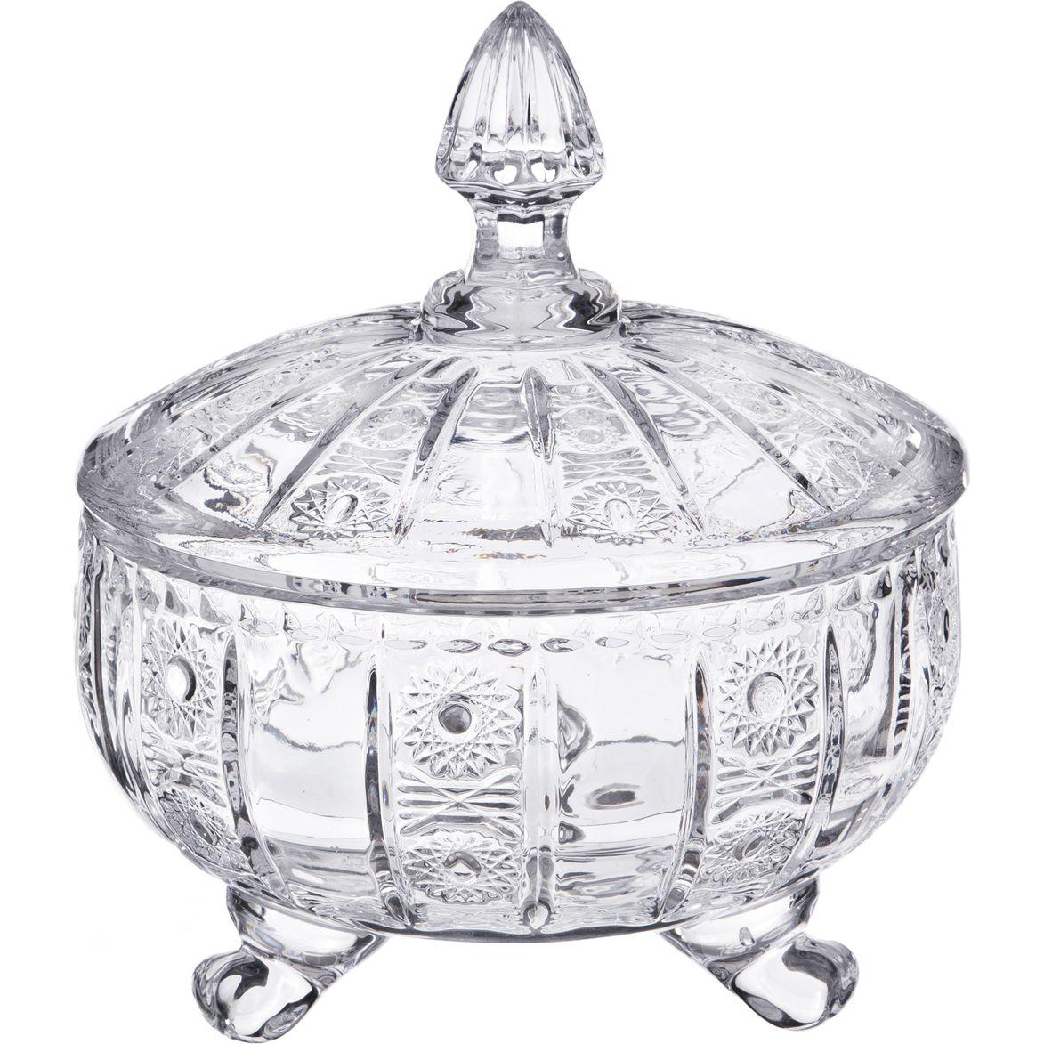 Вазы Lefard Конфетница Muza Crystal (17х21 см) конфетница lefard 257 240