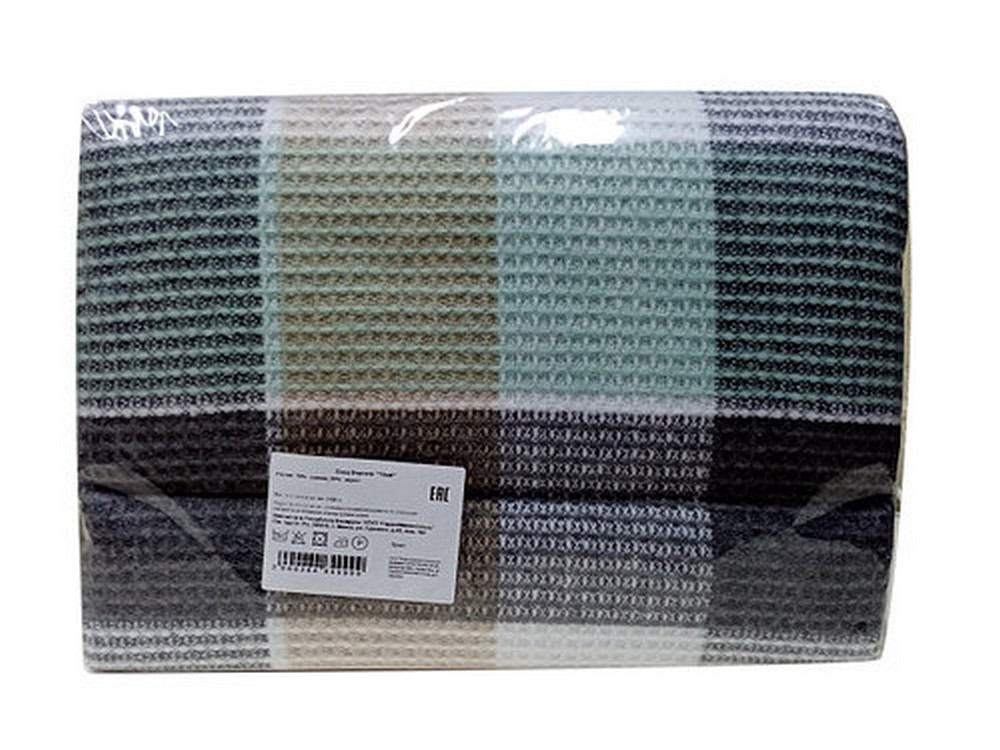 Плед Версаль Цвет: Белый, Светло-Серый, Светло-Бежевый, Мятный (140х200 см)