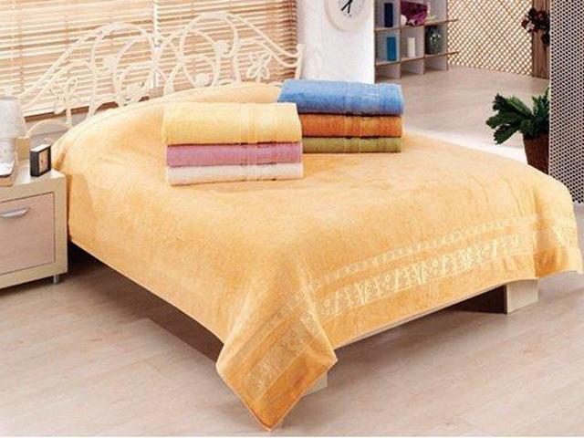 Купить Простыни Gobel, Покрывало-простыня Colton (200х220 см), Турция, Бамбуковая махра