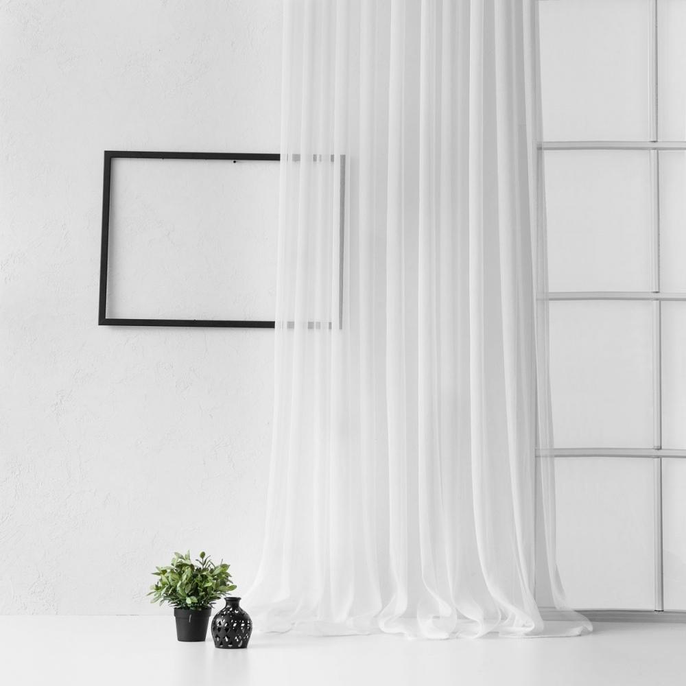 Картинки белые шторы