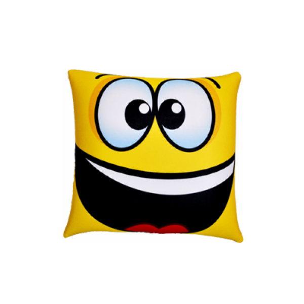 Декоративная подушка Смайл Цвет: Желтый (25х25) фото