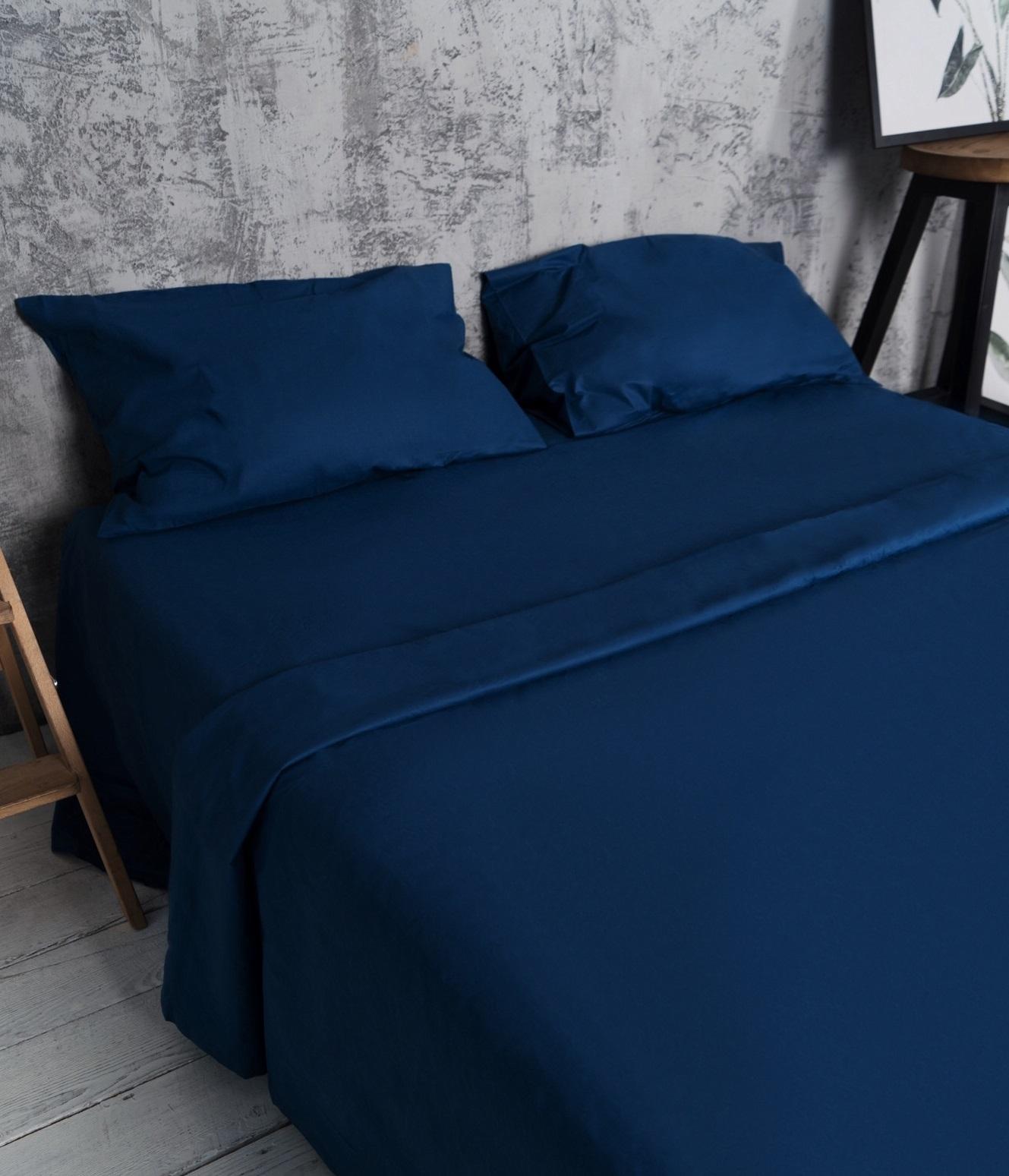 Купить Комплекты постельного белья T. O. T. I. Inc. Co., Постельное белье Sailor Blue (1, 5 спал.), Россия, Хлопковый сатин