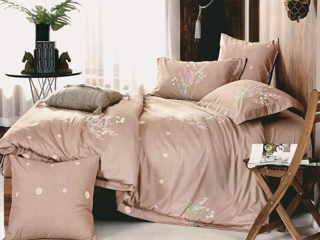 Купить Комплекты постельного белья Primavelle, Постельное белье Kat (семейное), Россия, Хлопковый сатин