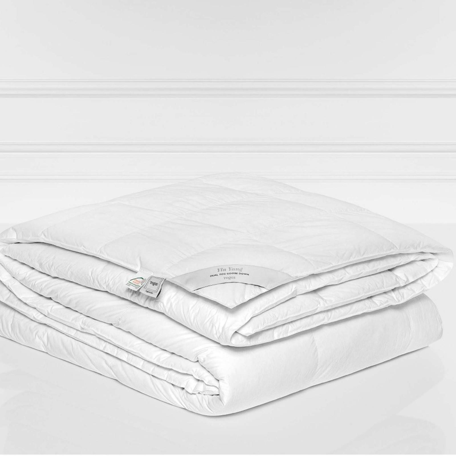 Купить Одеяла Togas, Одеяло Инь Янь Всесезонное (200х210 см), Греция, Белый, Хлопковый батист