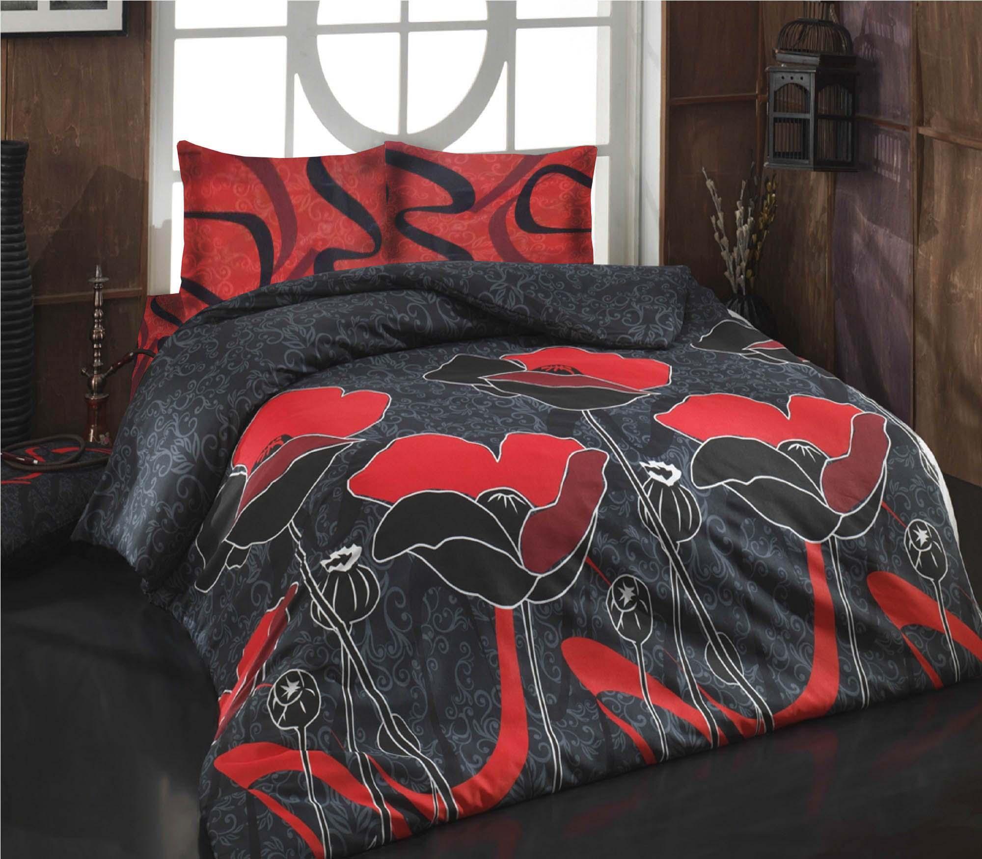 где купить Комплекты постельного белья Cotton Life Постельное белье Juliet Цвет: Красный (2 сп. евро) по лучшей цене