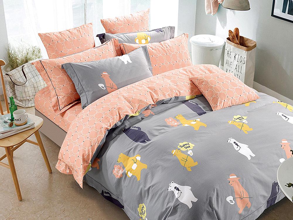 Купить Детское постельное белье Asabella, Детское Постельное белье Nan (160х220 см), Китай, Хлопковый сатин