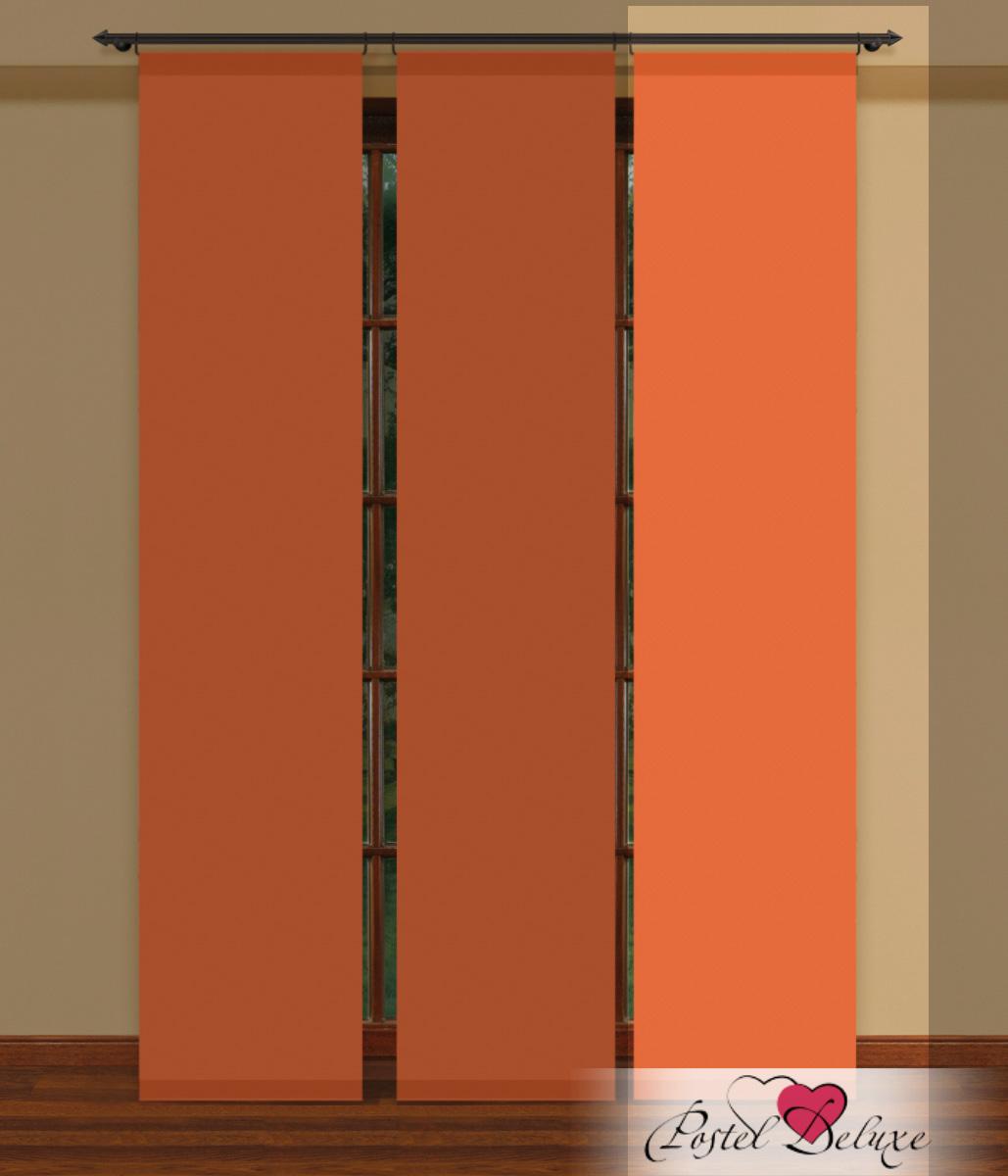 Купить Шторы Haft, Японские шторы Huet Цвет: Оранжевый, Польша, Тюль