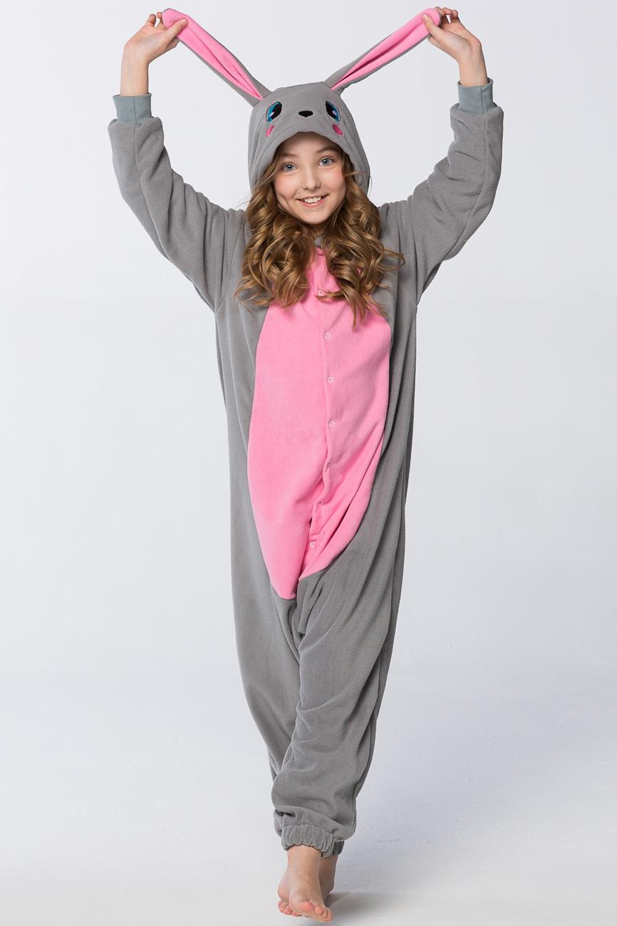 Детская пижама-кигуруми Кролик (8-10 лет) фото